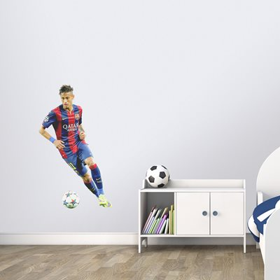 Neymar Barcelona lifesize wall sticker