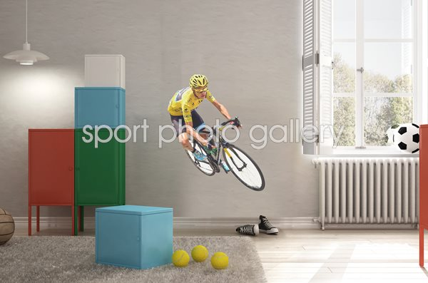 Chris Froome Tour de France lifesize wall sticker