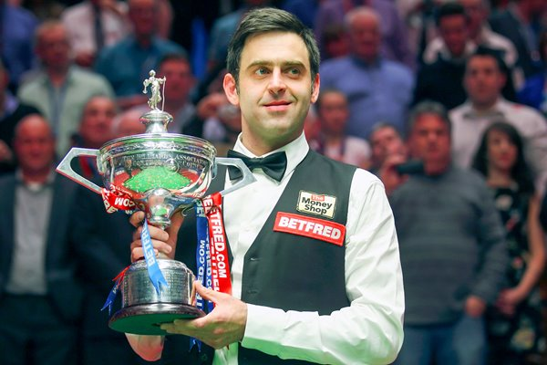 Ronnie O'Sullivan 4th World Snooker Title 2012
