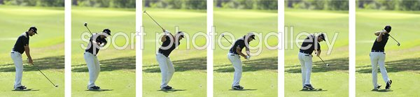 John Rahm 6 Stage Swing Sequence