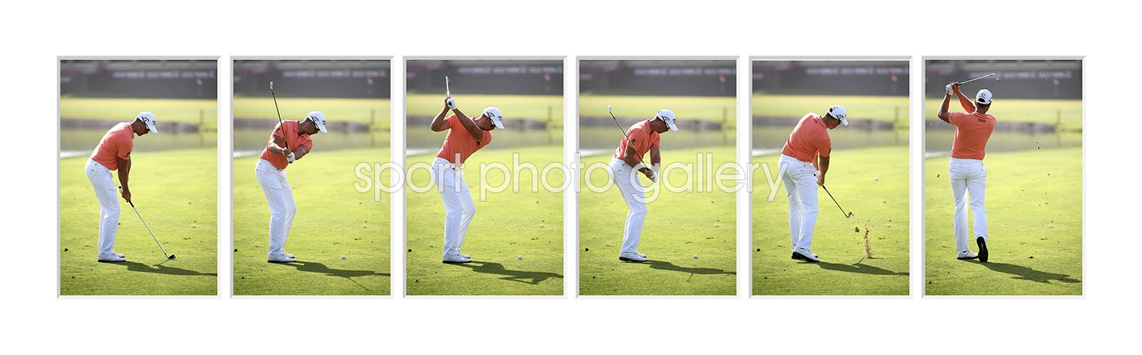 Henrik Stenson 6 Stage Swing Sequence