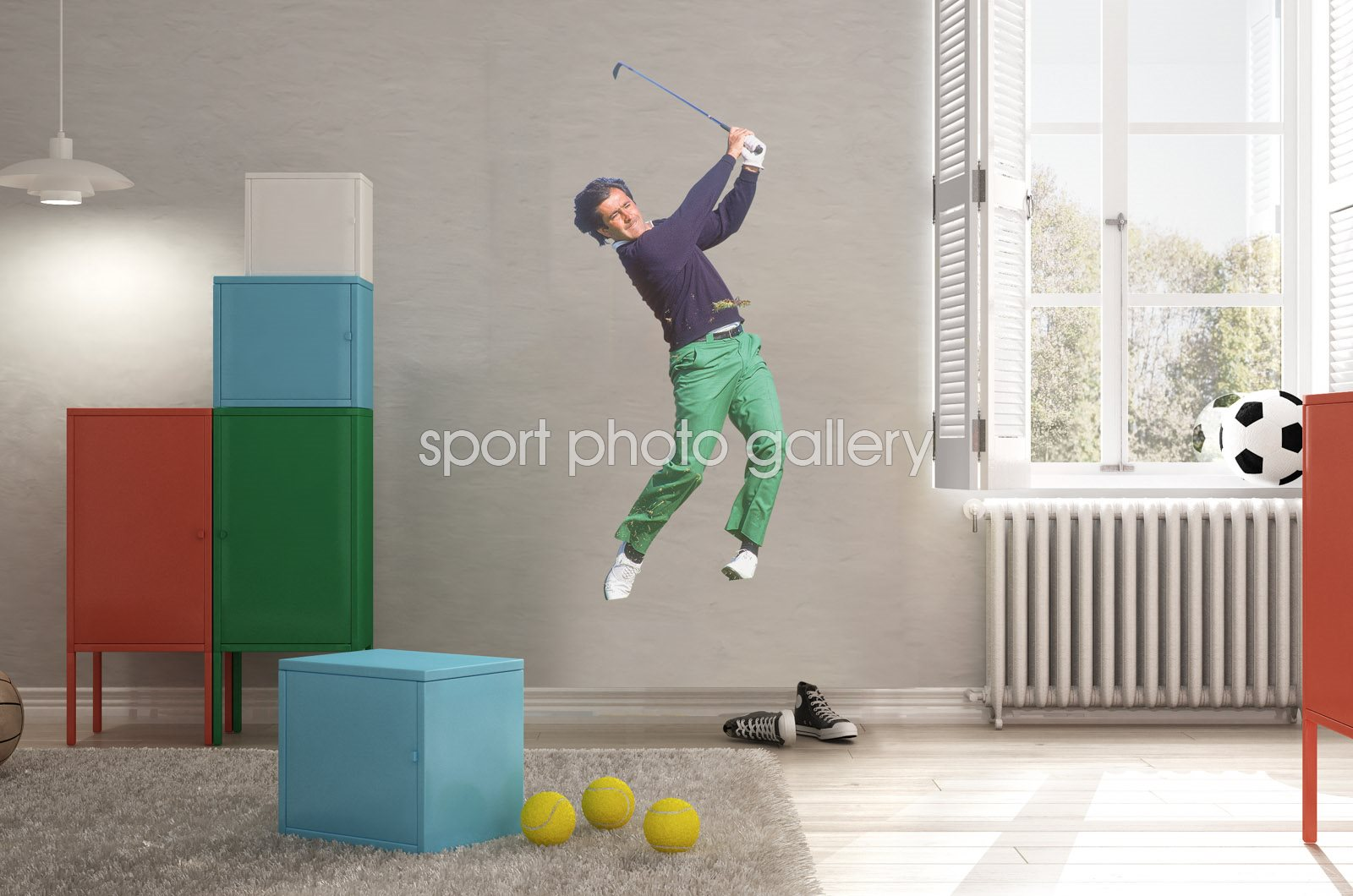 Seve Ballesteros Royal Lytham 1988 Wall Sticker