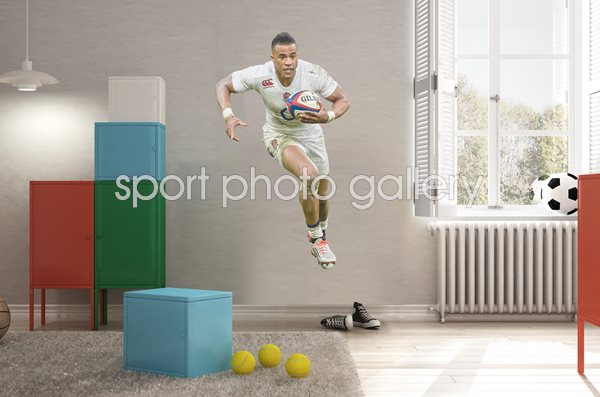 Anthony Watson England lifesize Wall Sticker