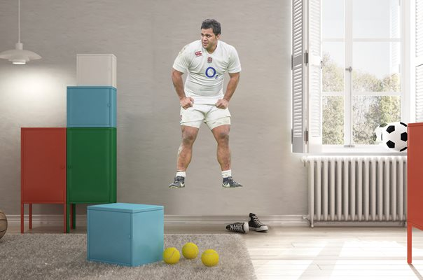 Billy Vunipola England Lifesize Wall Sticker