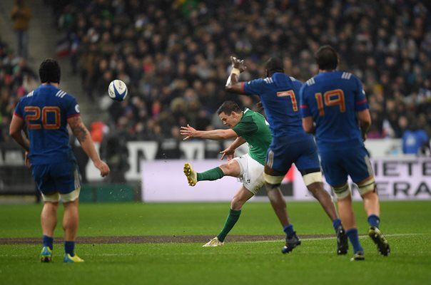 Jonathan Sexton Ireland Drop Goal v France Six Nations 2018