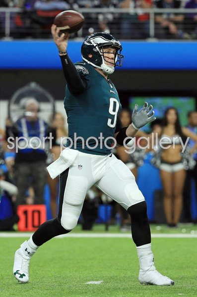 Nick Foles Philadelphia Eagles Quarterback Super Bowl 2018