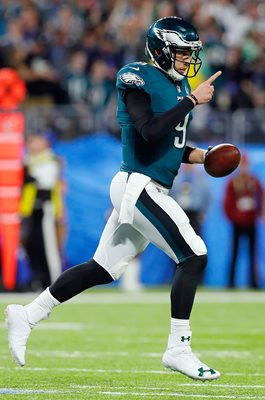 Quarterback Nick Foles Philadelphia Eagles Touchdown Super Bowl 2018