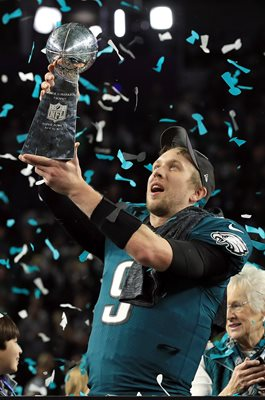 Nick Foles Philadelphia Eagles Super Bowl Champions Minneapolis 2018