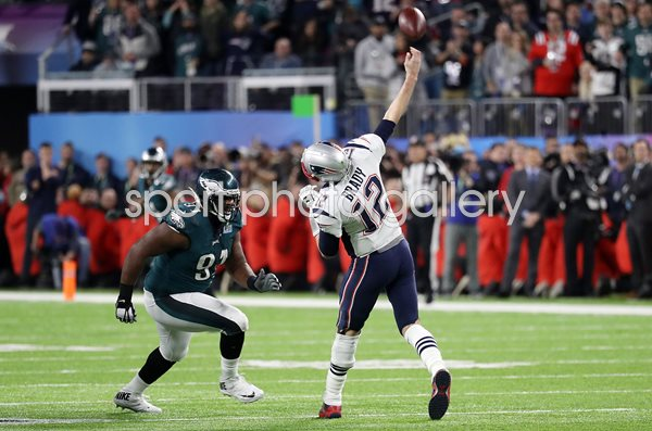 Tom Brady New England Patriots Quarterback Super Bowl 2018