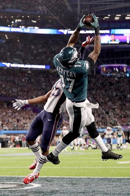 Alshon Jeffery Philadelphia Eagles Touchdown Super Bowl 2018