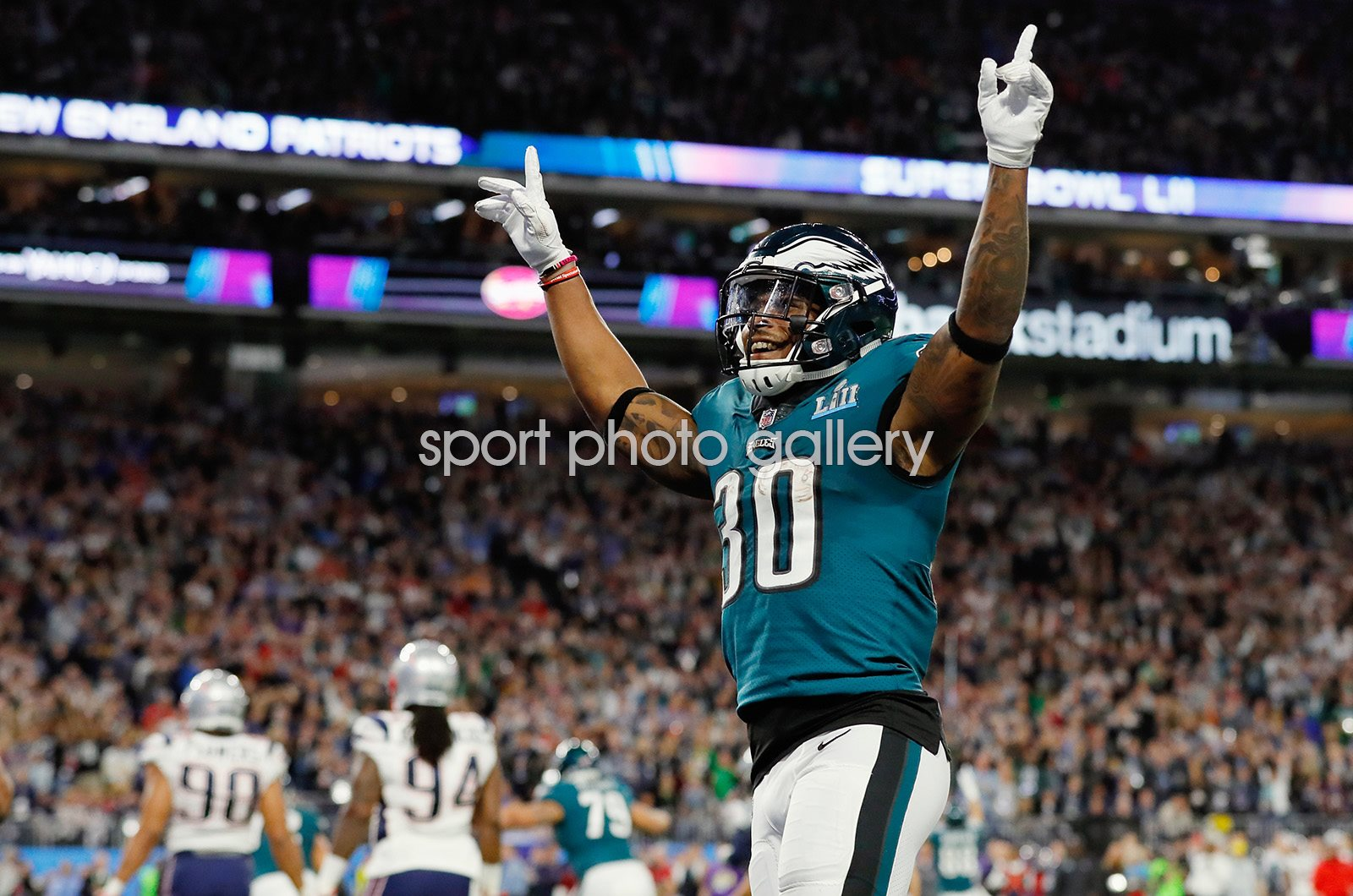 Corey Clement Philadelphia Eagles Super Bowl 2018