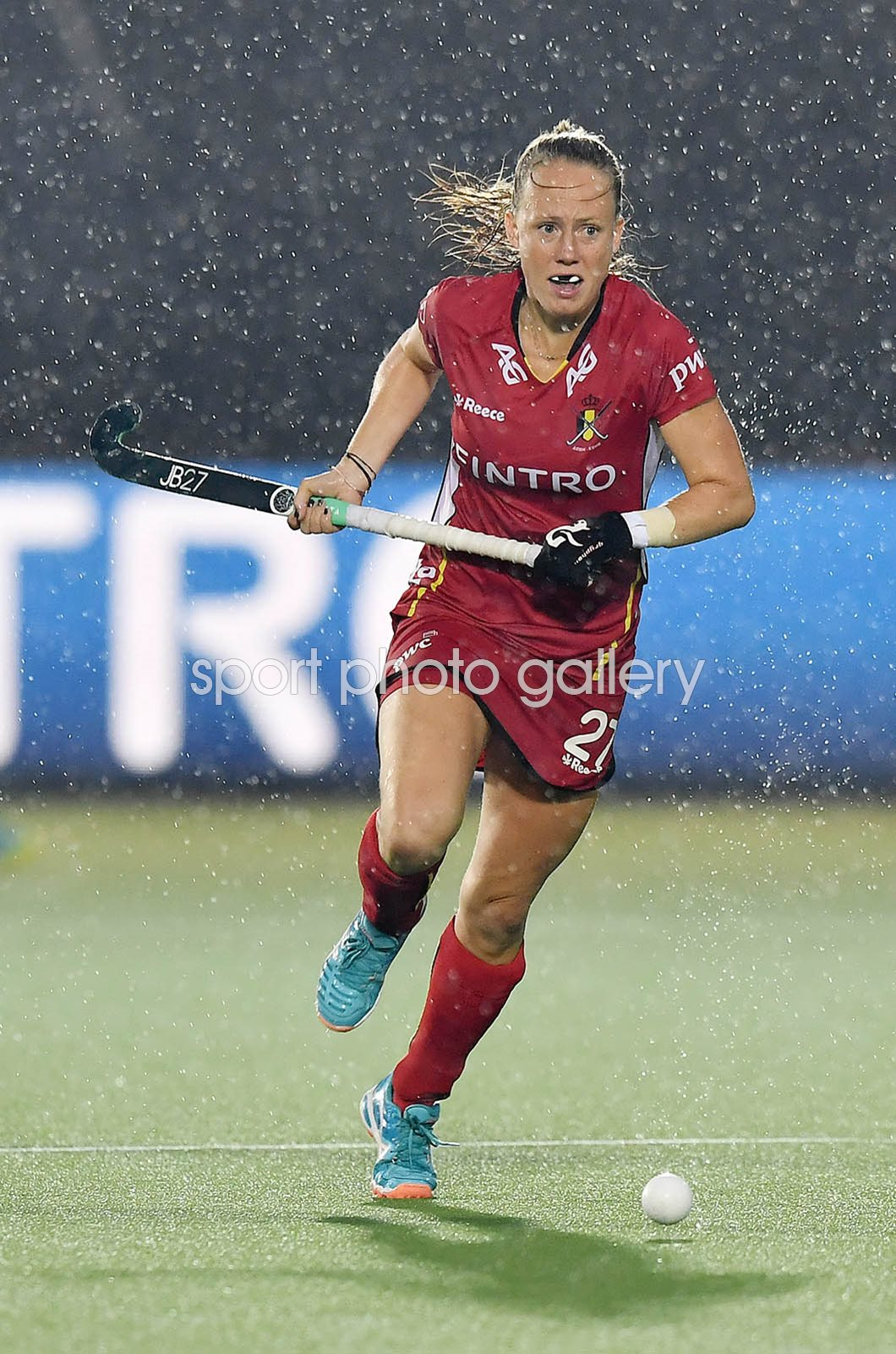 Jill Boon Belgium World Hockey League 2017