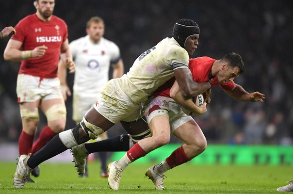Maro Itoje England v Wales Twickenham Six Nations 2018