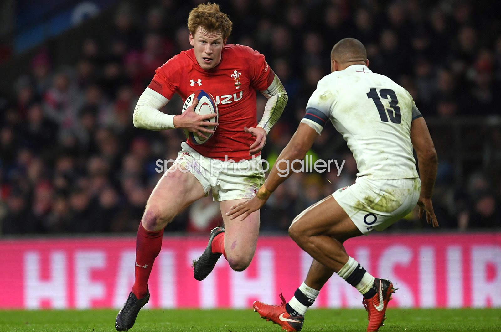 Rhys Patchell Wales v England Twickenham Six Nations 2018
