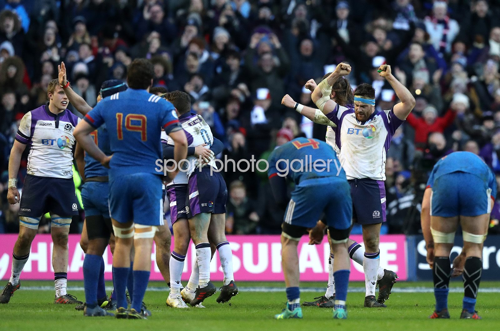 Scotland beat France Murrayfield Six Nations 2018