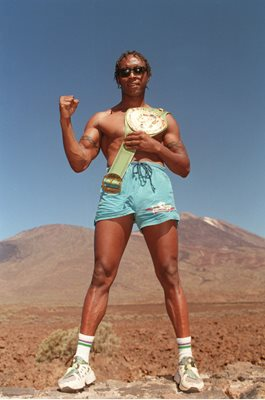 Nigel Benn Tenerife Training Camp 1995