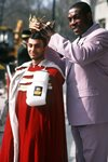 Prince Naseem Hamed and Frank Bruno London 1995 Acrylic