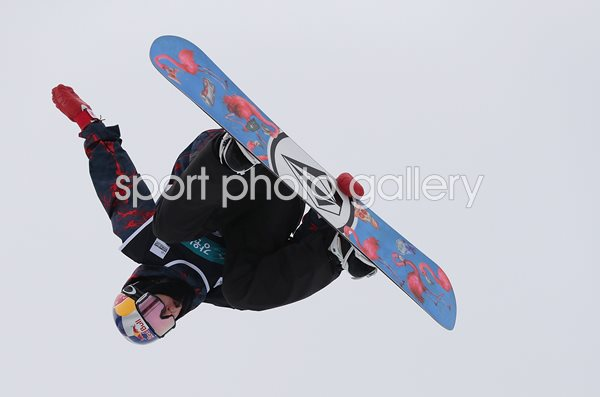 Scotty James Australia Halfpipe Snowboard World Cup 2017