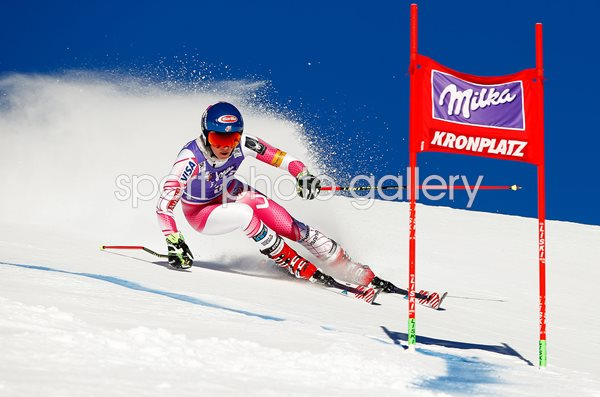Mikaela Shiffrin USA Alpine Ski World Cup Giant Slalom 2017