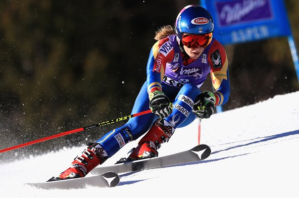 Mikaela Shiffrin USA Alpine Ski World Cup Giant Slalom Aspen 2017