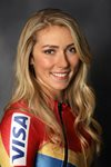 Mikaela Shiffrin Team USA portrait 2018 Acrylic