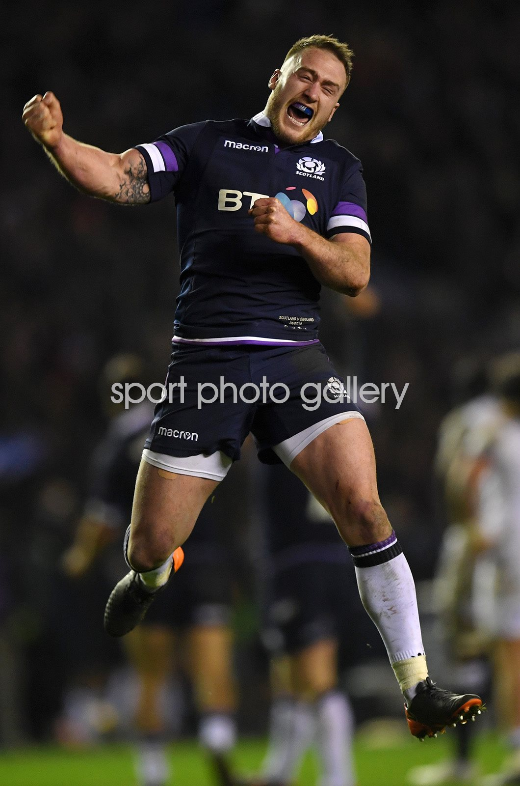 Stuart Hogg Scotland v England Murrayfield 6  Nations 2018