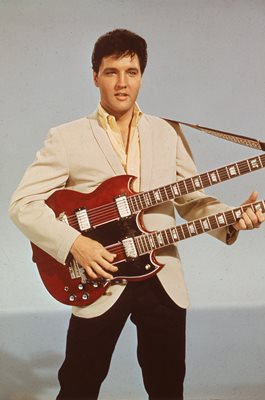 Elvis Presley American music icon