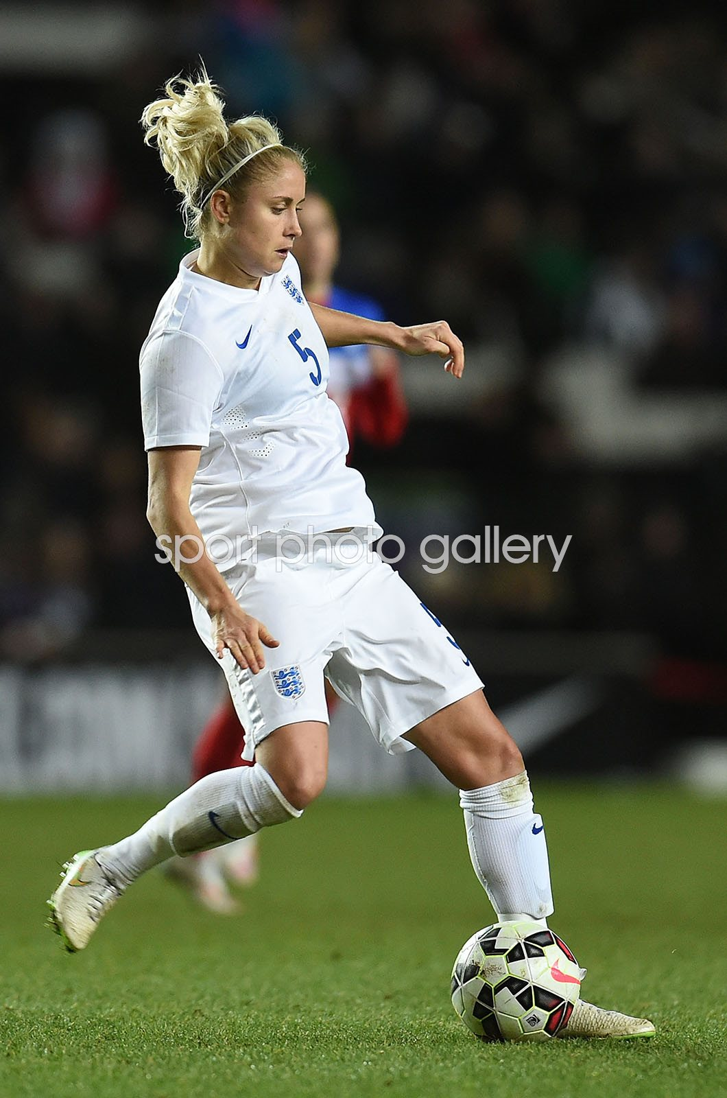 Steph Houghton England v USA Women's Friendly International 2015