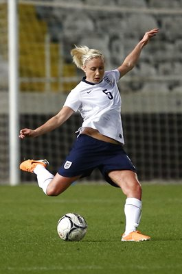 Steph Houghton England v France The Cyprus Cup Final 2014