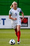 Steph Houghton Bosnia and Herzegovina v England UEFA Women's European Championship Qualifier Canvas