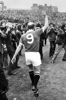 Bobby Charlton Manchester United 751st & Final Match 1973