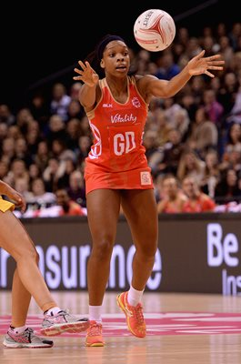 Eboni Beckford-Cambers England v Australia Netball International Series 2016