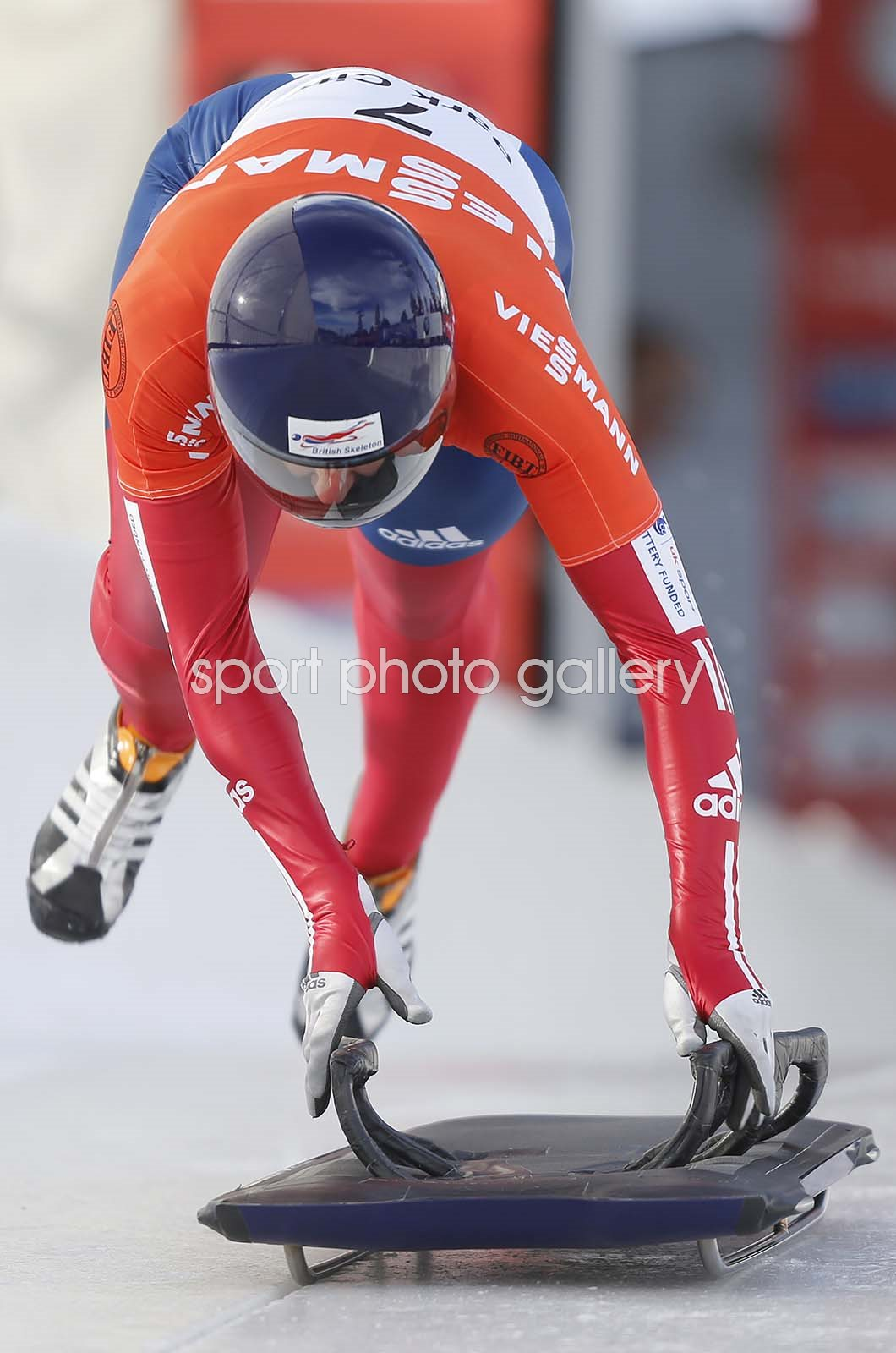 Lizzy Yarnold Park City Bobsled and Skeleton World Cup 2012