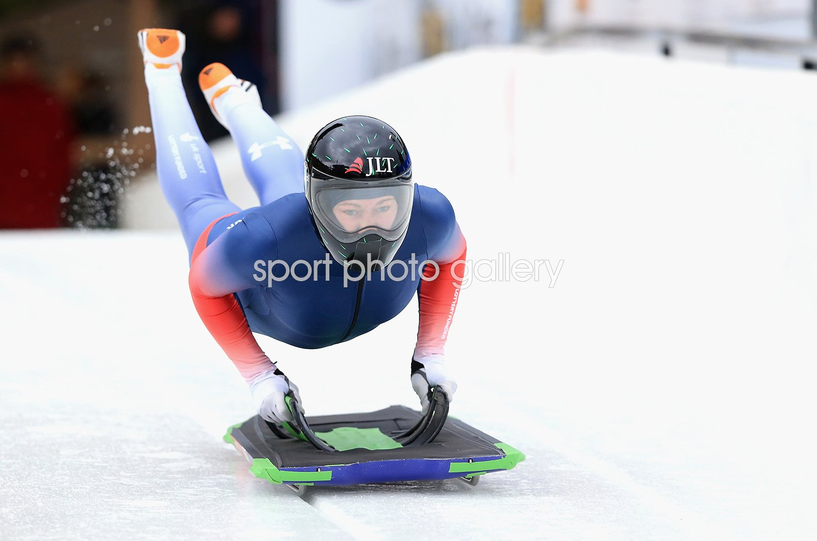 Lizzy Yarnold Skeleton BMW IBSF World Cup Training 2017