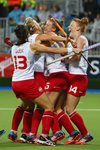 Lily Owsley Womens Hockey Gold Medal Match Commonwealth Games 2014 Prints