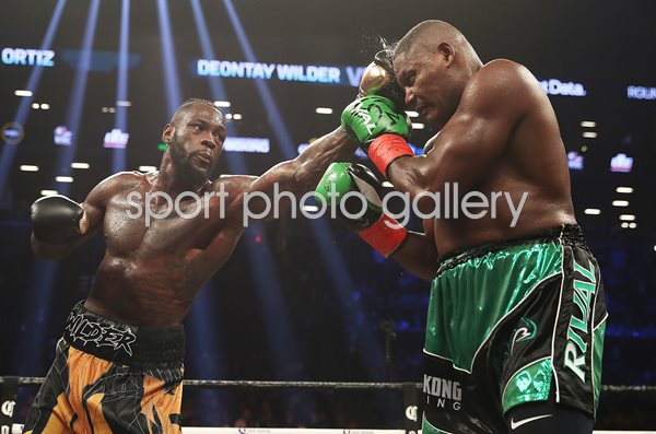 Deontay Wilder v Luis Ortiz Brooklyn New York 2018