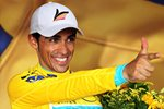 Alberto Contador Spain Yellow Jersey Tour de France 2010  Prints