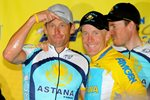 Lance Armstrong & Levi Leipheimer Tour of California 2009 Prints