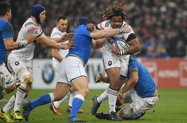Mathieu Bastareaud France v Italy Marseille 6 Nations 2018