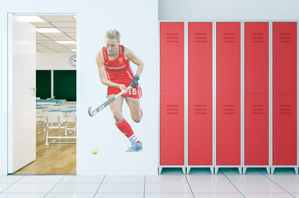 Alex Danson England Hockey Lifesize Wallpaper Cutout