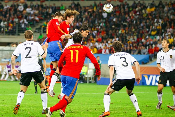 Puyol's header v Germany