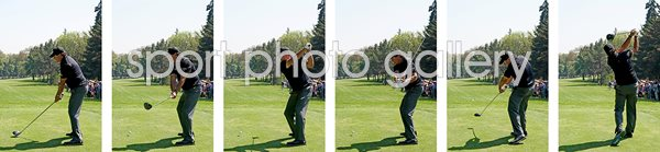 Phil Mickelson 6 stage Driver Swing Sequence 2018
