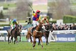 Richard Johnson & Native River win Cheltenham Gold Cup 2018 Prints