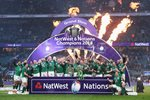 Ireland Six Nations Grand Slam Winners Twickenham 2018 Prints