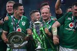 Jonny Sexton & Rory Best Ireland Grand Slam Twickenham 2018 Prints