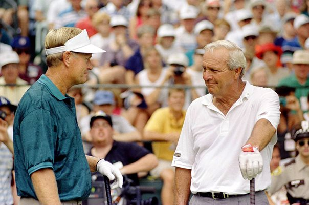 Jack Nicklaus & Arnold Palmer US Open Championship 1994