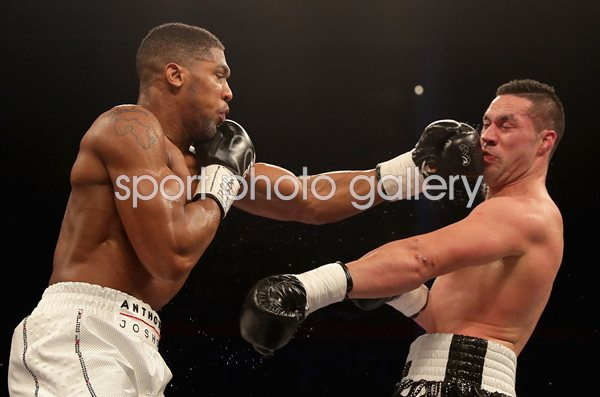 Anthony Joshua v Joseph Parker World Heavyweight Title Fight 2018
