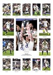 2017 ENGLAND SIX NATIONS WINNERS TEAM SPECIAL Prints