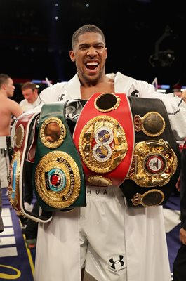 Anthony Joshua World Heavyweight Champion Cardiff 2018