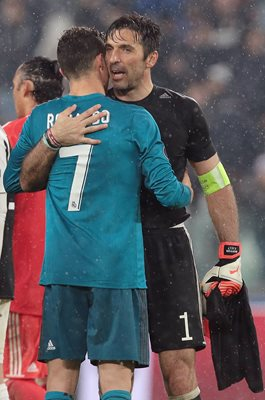 Gianluigi Buffon & Cristiano Ronaldo Champions League 2018